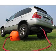 Exhaust Air Jack Lifts Your Car With Ease.