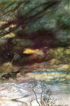 Arthur Rackham Wagners Ring Of The Nibelung