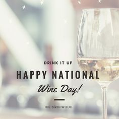 The Birchwood | St. Petersburg FL | Boutique Hotel Fine Dining Restaurant & Rooftop Lounge | Happy National Wine Day!  Did you know we have over 12000 bottles of wine in our library and have been awarded the Wine Spectator Award of Excellence for two years in a row?