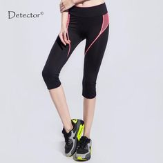 97a3cfb8498922 Detector Women Yoga Pants Fitness Sports Leggings Exercise Tights Female  Sports Elastic Running Trousers