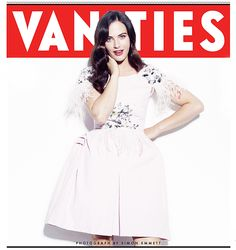 Jessica Brown Findlay in the December 2012 issue of Vanity Fair