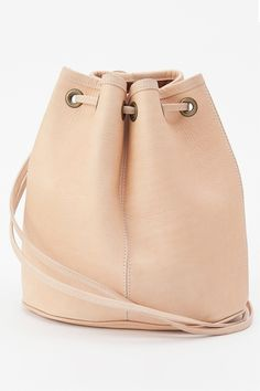 American Apparel - Leather Backpack