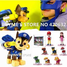 Online Shop Pop In-stock Items Puppy Patrol Puppets Patrulla Canina Toys Anime Action Figures Doll Kids Toy For Boy Gift Juguetes Brinquedos|Aliexpress Mobile