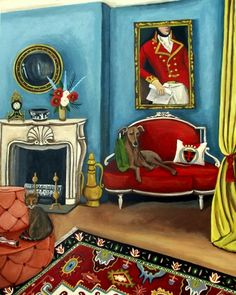 17 Hyde Park- If Walls Could Talk......, painting by artist Catherine Nolin