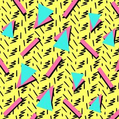 This Pattern Quiz Will Determine How Well You See Color 90s Pattern, Pattern Art, Pattern Design, Pop Art Patterns, Graphic Patterns, Shape Patterns, Retro Wallpaper, Pattern Wallpaper, 90s Design