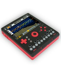 KDJ-ONE Mobile Audio Workstation Music Machine, Drum Machine, Electronic Music Instruments, Musical Instruments, Arduino, Digital Audio Workstation, Music Gadgets, Electronic Kits, Dj Equipment