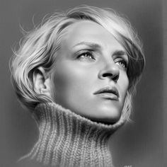elik is an artist from Turkey, who's born in Alanya. Musa worked as an art teacher currently working as a teacher laying. Musa has options using oil Realistic Pencil Drawings, Amazing Drawings, Art Drawings, Pencil Portrait, Portrait Art, Hyperrealism Paintings, Hyperrealistic Drawing, Charcoal Portraits, Charcoal Drawings