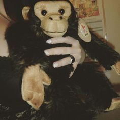 Steve the monkey <3 #plushie #plushies #monkey #toys #cute #cuteness #materia #ape