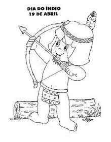 Dia Do Indio 55 Atividades E Desenhos Dia Do Indio Atividade