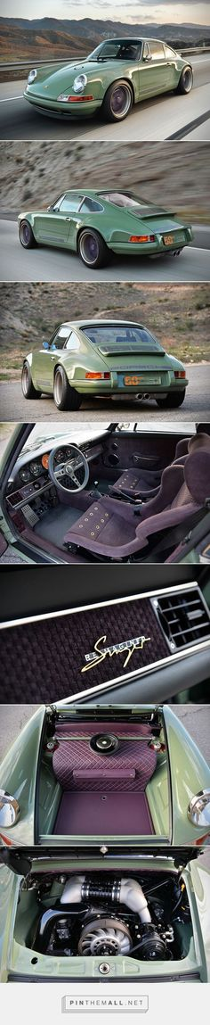 Porsche 911! I saved this pin specifically for that interior! Insanely spectacular!