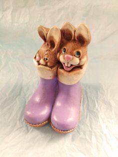 Pendelfin Vintage lapins Bunny Collection Figure par TopDolls777