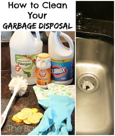 The Bajan Texan: How to Clean your Garbage Disposal; http://bajantexan.blogspot.com/2014/06/how-to-clean-your-garbage-disposal.html