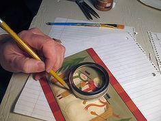 Mason Jar Crafts – How To Chalk Paint Your Mason Jars - Navalled Jar Lid Crafts, Mason Jar Crafts, Canning Jar Lids, Mason Jar Lids, Mason Jar Flowers, Diy Flowers, Whimsical Christmas, Diy Christmas Ornaments, Christmas Ideas