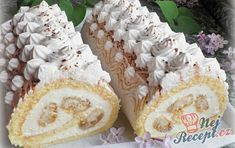Mini roládky s banánem a šlehačkou Tiramisu, Coffee Tasting, Dream Cake, Banana Split, Pavlova, Vanilla Cake, Planting Flowers, Flowering Plants, Nutella