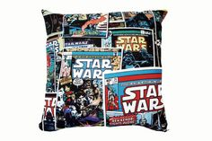 Star Wars Comic Cushion Cover by BlossomvioletCrafts on Etsy