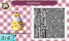 Sunflower Summer Dress | QRCrossing.com