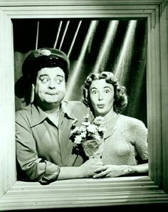 Ralph and Alice Kramden aka Jackie Gleason and Audrey Meadows