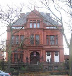 Sydney Kent House in South Side Chicago, Illinois. Monuments, South Side Chicago, Chicago Buildings, Places In Chicago, Chicago Travel, Chicago Nightlife, Old Mansions, My Kind Of Town, Second Empire