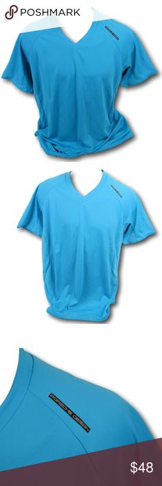14f16bead Adidas Porsche Design M Chill Turquoise T-Shirt Mens Adidas Porsche Design  Sport M Chill