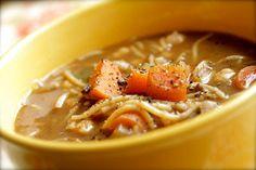 Smith's Vegan Kitchen: Chickpea Noodle Soup