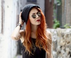 Red ombre hair.  Hmmm.... Should I do it???