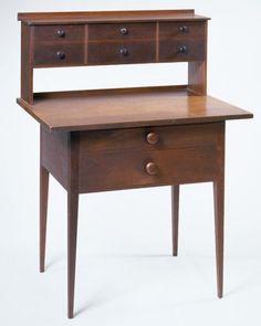shaker desk. #vimandverve