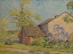 William Chadwick, Barn Near Old Lyme