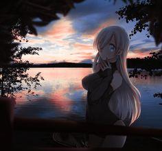Best Anime List, Manga Art, Anime Art, Real Anime, Feeling Lonely, 2d Art, Seven Deadly Sins, Art Background, Comfort Zone