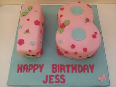 Girls 18th birthday cake 18th Birthday Party, Birthday Celebration, Birthday Cakes, Birthday Ideas, Happy Birthday, 18 Birthday Party Decorations, 18th Cake, Giant Cupcakes, Number Cakes