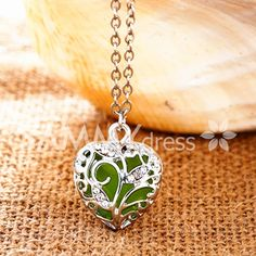 Charming Luminous Heart Necklace For Women