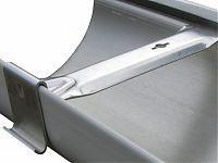 6 Rb Fascia Hanger W Clip Fascia Gutters Aluminum