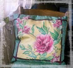 Картинки по запросу подушка в технике батик