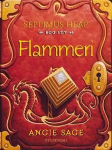 9 out of 10 starf for Flammeri by Angie Sage #boganmeldelse #bookreview  Read more reviews at http://www.boggnasker.dk
