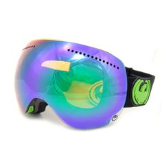 Dragon APX Jet Green Ionized + Spare Lens Snowboard/Ski Goggles