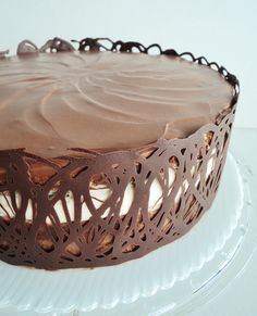 Recipe for Tuxedo truffle mousse cake - must find a recipe for a white cheesecake layer to add to it.