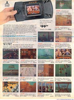 The Sears Catalog – Atari Lynx