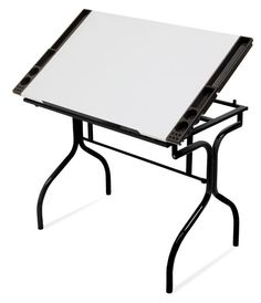 This is my art table;e. Folds up, not too heavy and not too big. HIGHLY recommended.