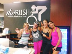 Cycling class at The Rush, Carmel Valley