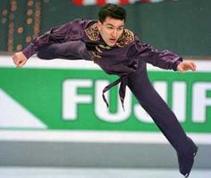 Elvis Stojko A karate black belt at age 16; and a three-time World champion (1994-95, 1997), seven-time Canadian national champion (1994, 1996-2000 and 2002) and a two-time Olympic silver medalist (1994, 1998). Elvis Stojko became the first man to land the quadruple-double combination at the 1991 Worlds and a quadruple-triple combination at the 1997 Grand Prix Finals.