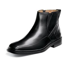 db3acd7f0ce8ec Florsheim Welter Leather Boots for Men - Black