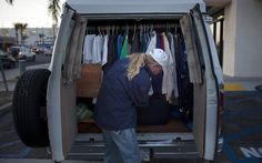 A model 'parking lot' program in California could bring relief to people living in cars and vans across America.There are many homeless Americans living in their cars and trucks