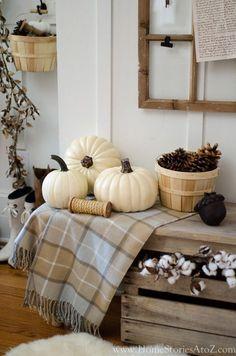 Easy Home Decor, Cheap Home Decor, Autumn Decorating, Decorating Ideas, Decor Ideas, Basement Decorating, Craft Ideas, Hallowen Ideas, Fall Vignettes