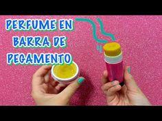 COMO SE HACE PERFUME CASERO EN BARRA DE PEGAMENTO /HOW TO/ PERFUME SOLIDO - YouTube