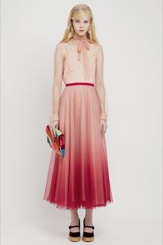 Sfilata RED Valentino New York - Pre-Collezioni Autunno-Inverno 2015-16 - Vogue