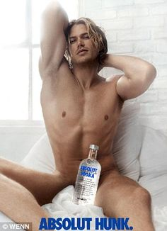 Jason Lewis - The gorgeous star famously posed for this advertising campaign that also featured in Sex and the City