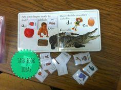 Little Miss Kimberly Ann: Task Book Ideas
