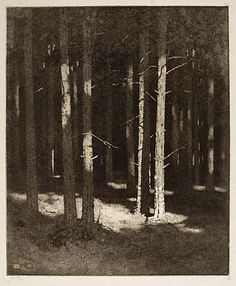 Alfred Hartley, #etching and engraving Amazing - almost looks like a photograph
