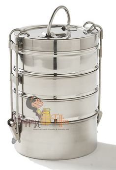 Tiffin Lunch Box (stackable stainless steel tins)