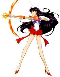 Sailor Mars Princess | Sailor Mars fire