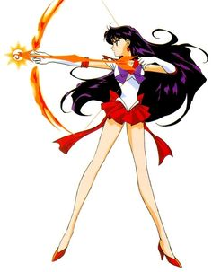 Sailor Mars, my favorite.